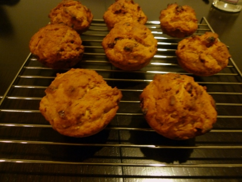 Cranberry_apple_muffins